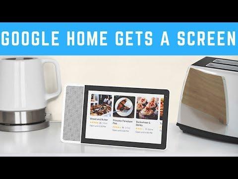 Lenovo Smart Display at CES-2018