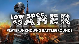 Super low Playerunknown
