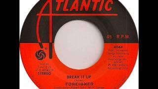Break It Up - Foreigner (HQ Vinyl)