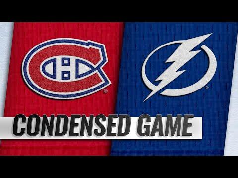 02/16/19 Condensed Game: Canadiens @ Lightning