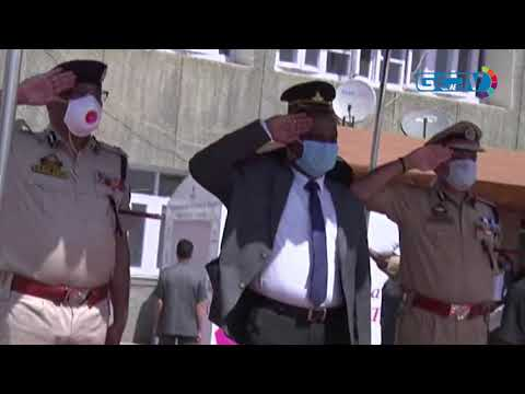 LG inspects guard of honour as Civil Secretariat reopens in Srinagar