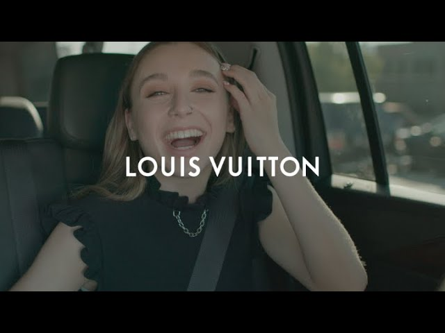 Emma Chamberlain for the Louis Vuitton Cruise 2020 Show