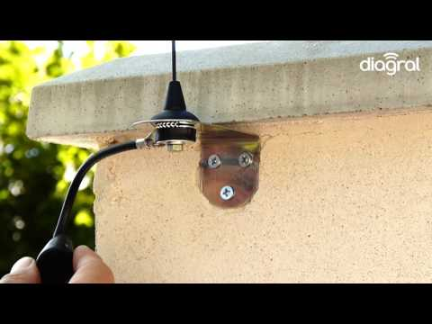 Installation antenne déportée Diagral By Adyx