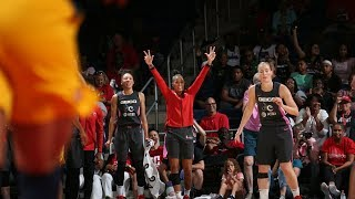 Washington Mystics Set WNBA Record For 3PM