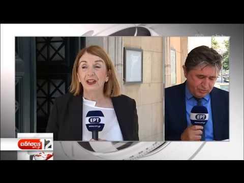 Δεν θα είναι υποψήφια στις εκλογές η Τασία Χριστοδουλοπούλου  | 07/06/2019 | ΕΡΤ