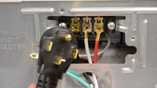 How To Change A Dryer Cord - Changing a 3-Prong to a 4-Prong Plug