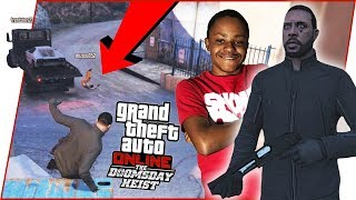 TRENT MAKES EVERYTHING MORE DIFFICULT! - GTA Online Heist Gameplay