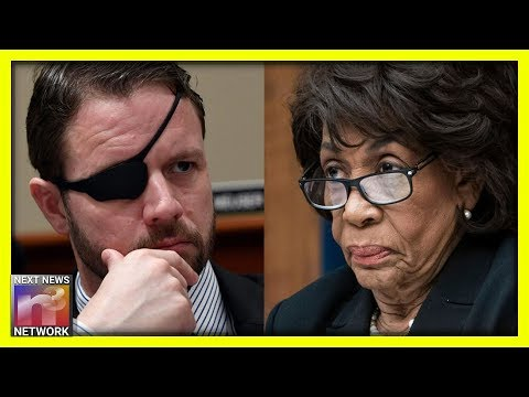 Boom! Mad Maxine Gets a Taste of Her Own Medicine When Rep. Dan Crenshaw Steps In - Video