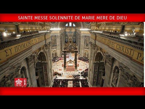 Messe pour la Paix du 1er janvier 2018
