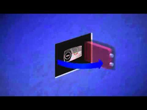 Come installare una cassaforte a muro Technomax