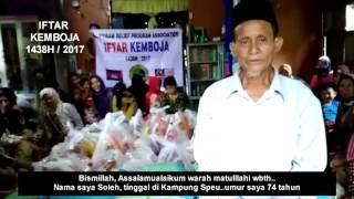 Iftar Kemboja 1438H / 2017
