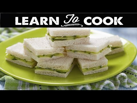 Video How to Make a Refreshing Cucumber Sandwich
