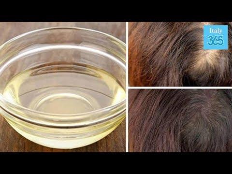 Maschera per capelli quando fragilità di capelli