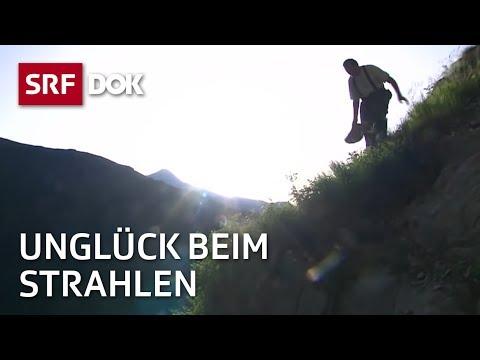 Der Strahler Teodosi Venzin und sein Sturz in den Bündner Bergen (
