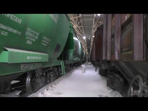 Усі роботи з приймання та відвантаження сільгосппродукції на перевантажувальному терміналі компанії у Миколаєві йдуть за графіком (ВІДЕО)