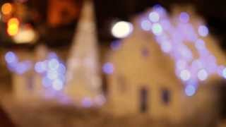 preview picture of video 'Christmas lights in Yerevan at night'