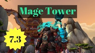 Fel Totem's Fall - Destruction Warlock Mage Tower Challenge