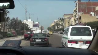 preview picture of video 'Driving Cairo القاهرة to Alexandria الإسكندرية - Egypt مصر'
