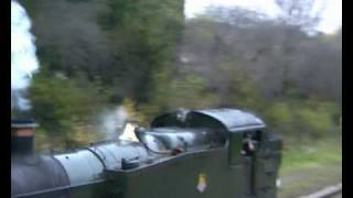 preview picture of video 'Bluebell Railway - No 5199 Southbound at West Hoathly'