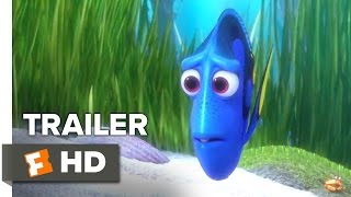 Finding Dory Official Trailer 2 2016  Ellen DeGeneres Albert Brooks Movie HD
