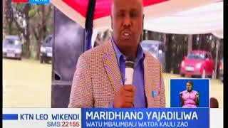 Naibu Rais William Ruto amewataka wanasiasa kuridhika na maamuzi ya jana na wakome kuuliza maswali
