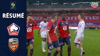 LOSC LILLE - FC LORIENT (4 - 0) - Résumé - (LOSC - FCL) / 2020-2021