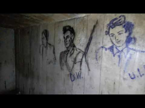 Littlewoods Air Raid Shelters' Mysterious Drawings