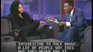 "Sananda Maitreya aka Terence Trent D'Arby Arsenio Hall Show part2 ""interview"""