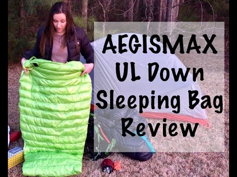 Review of the AEGISMAX Ultra Light Down Sleeping Bag