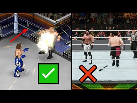 10 Awesome Things You Can't Do In WWE 2K Games (WWE 2K19) But Can Do In Fire Pro Wrestling World!