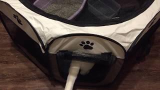 猫用に購入した避難時に役に立ちそうな折りたたみ式ゲージ