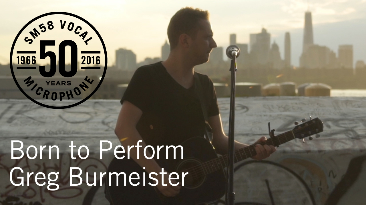 Born to Perform: Greg Burmeister & das Shure SM58