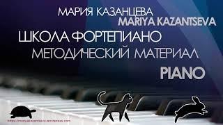 Школа Фортепиано - Вебер К. Аллеманда си бемоль мажор