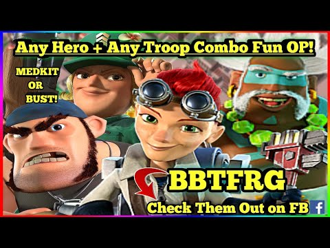 **ANY HERO + ANY TROOP COMBO** | AHL with the BBTFRG | Boom Beach