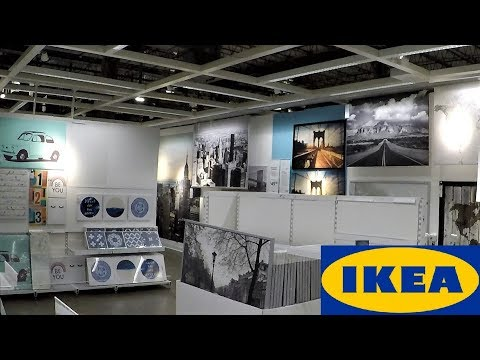 IKEA WALL ART PAINTINGS WALL DECOR - HOME DECOR SHOP WITH ME SHOPPING STORE WALK THROUGH 4K