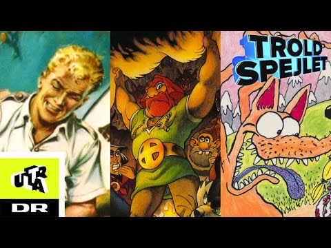 Top 5 danske tegneserier | Troldspejlet | Ultra