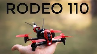 Walkera Rodeo 110 FPV Racer Review and Maiden Flight