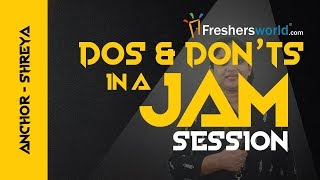 JAM - Just A Minute Dos & Don'ts, Tips To Practice JAM Session - Interview tips