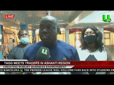 TAGG Meets Traders In Ashanti Region