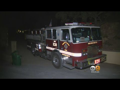 Homeowners And Crews Try To Get Ahead Of Thomas Fire In Santa Barbara