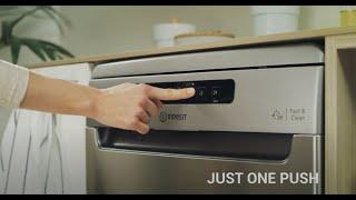 Indesit Push & Go | New Indesit Dishwasher Range Advert