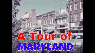 1960s TOUR OF MARYLAND   EASTON, BALTIMORE, HAGERSTOWN & ANNAPOLIS  OCEAN CITY   89694