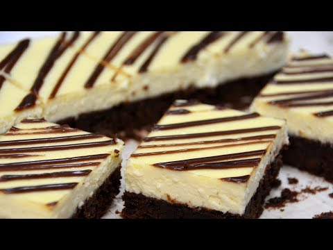 Brownie Cheesecake Bars Recipe | COLINary