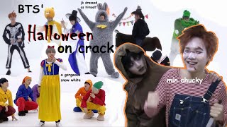 Bts Halloween Dance Practices On Crack (3 In 1)