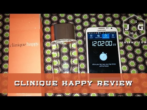 Clinique Happy Perfume Spray Review | Very Long Lasting!