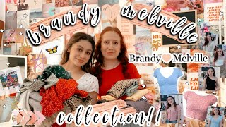 Trying On Our ENTIRE Brandy Melville Collection!