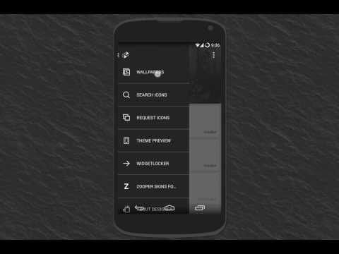 Video of Influx - Icon Pack
