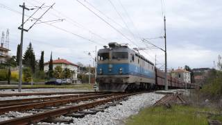 preview picture of video 'Freight train Bakar-Linz in Matulji'