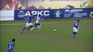 На стадионе «Электрон» прошел матч между «Динамо - Санкт-Петербург» и воронежским «Факелом»