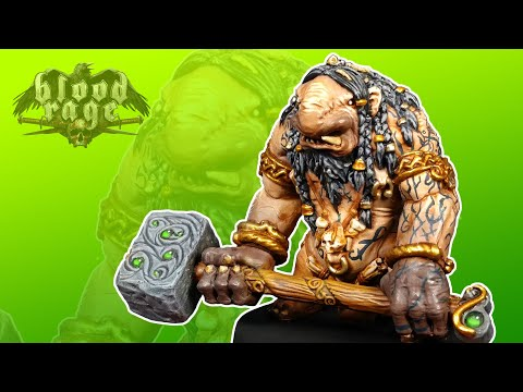 Painting Blood Rage Ep. 6 - The Troll!